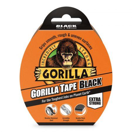 Gorilla Tape   11m x 48mm-fekete  (6db/karton)
