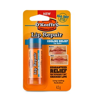 O'Keeffe's Lip Repair Cooling ajakápoló 4,2g (6db/karton)