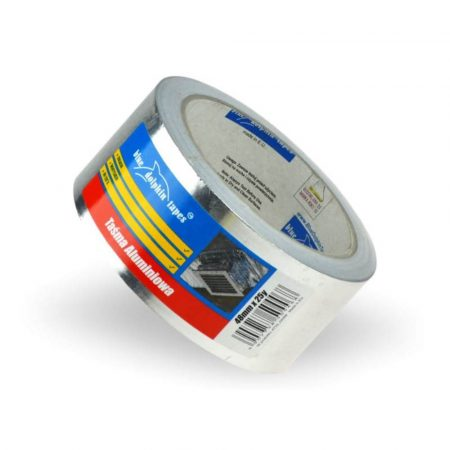 Aluminium szalag, 18my vastag (szilikon önhordozón) 50mmX25m 30db/karton