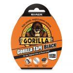 Gorilla Tape Black 11m x 48mm Fekete Extra Erős Ragasztószalag