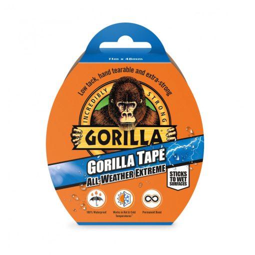 Gorilla Tape All Weather Extreme Fekete Extrém Erős Ragasztószalag 11m x 48mm