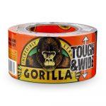 Gorilla Tape Tough & Wide  27m x 73mm Fekete Extra Erős Ragasztószalag