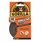 Gorilla Tape To Go 25mm x 9,14m Handy Roll Fekete Extra Erős Ragasztószalag