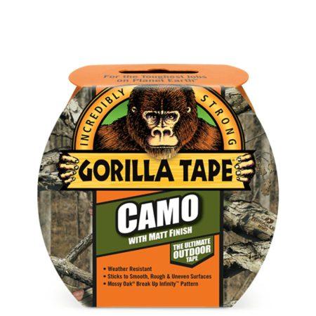 Gorilla Tape Camo Terepmintás 8,2m x 48mm Extra Erős Ragasztószalag