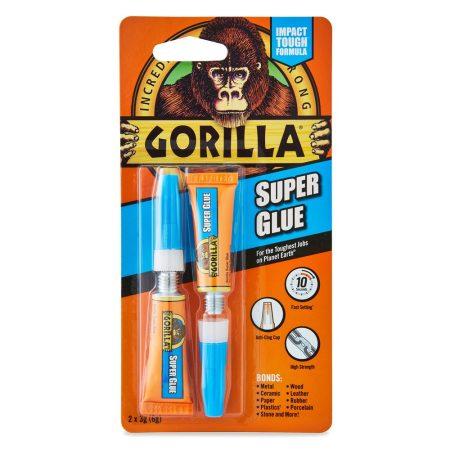 Gorilla Super Glue Pillanatragasztó 2x3gramm