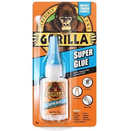 Gorilla Super Glue Pillanatragasztó 15gramm