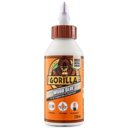 Gorilla Wood Glue Faragasztó 236ml D3