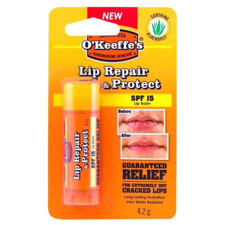 O'keeffe's Lip Repair & Protect SPF 15 Ajakápoló stift 4,2g (6db/karton)