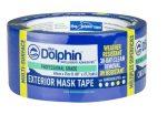 Blue Dolphin kültéri festő-maszkoló szalag UV-álló, KÉK-30 napos, 48mmx25m  (36/karton) 02-4-01