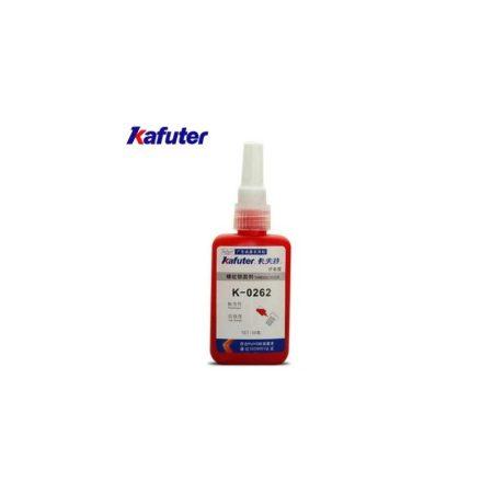KAFUTER® Threadlocker K-0262 Csavarrögzítő Nagy Szilárdságú 50ml