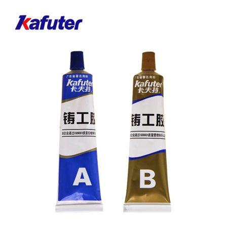 KAFUTER® Metal Repair Epoxy Putty K9119 Kétkomponensű Acéltöltésű Epoxy Gitt 100g