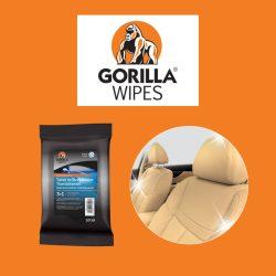 Gorilla Wipes - ápoló és tisztítókendők -