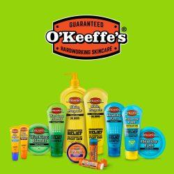 O'keeffe's bőrápoló termékek