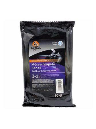 Gorilla Wipes műszerfalápoló kendő 30db/csomag (12csomag/karton) EAN:5996275232961